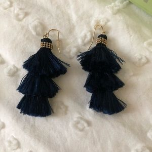 BUNDLE AND SAVE FRANCESCA'S Navy Tassel Earrings